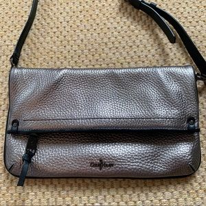 Cole Haan metallic crossbody bag